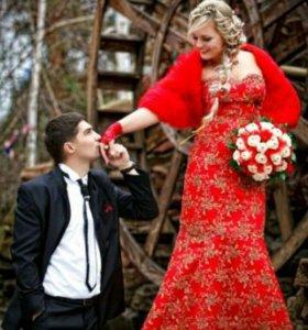 Платье вечернее ( свадебное)