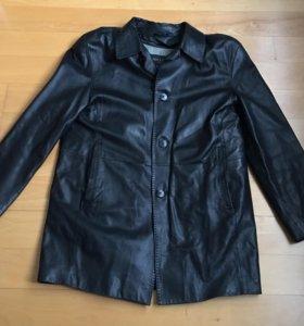 Куртка кожаная мужская Италия размер 48