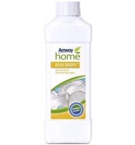 Концентрированная жидкость для мытья посуды, 1 л