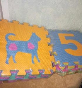 Развивающие коврики-пазлы для детей