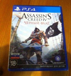 Абсолютно Новый Диск Assassin'S Creed Black Flag 4