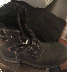 Зимние ботинки р.43 новые