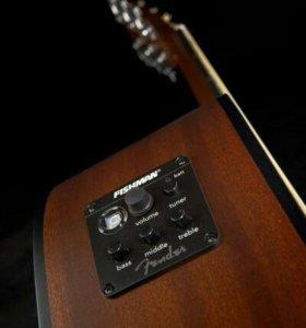 Электроакустическая гитара Fender CD 100 CE