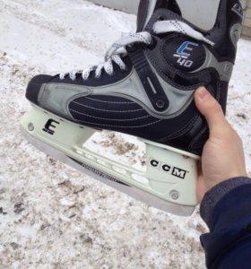 Хоккейные коньки ССМ Е40