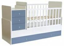 Детская кровать+тумба