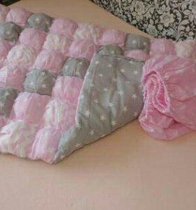 Одеяло-коврик Bombon