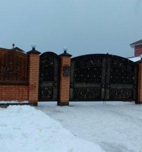 Калитки, ворота кованые