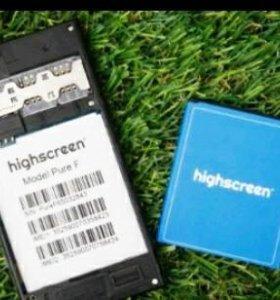 продам батарейку на highscreen pure F