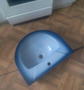 Унитаз без бочка раковина с подставкой