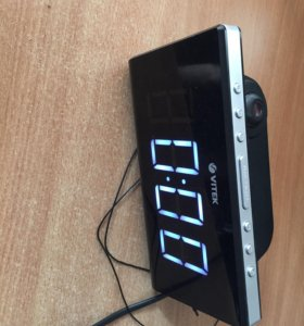 Радио будильник vitek