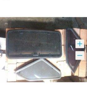 Люк, задние боковые стёкла, кресла на ВАЗ 2109