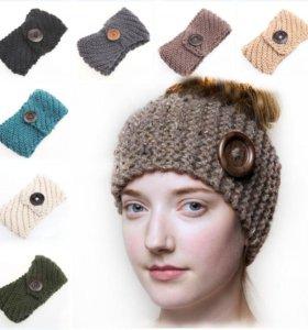 Модные повязки на голову ручной работы