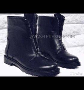 Новые ботинки Hermes