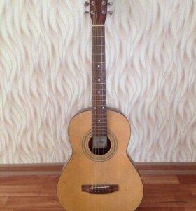 акустичнская 6-ти струнная гитара из Японии б/у