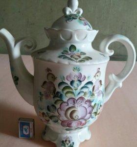 Чайник семикаракорский фарфор