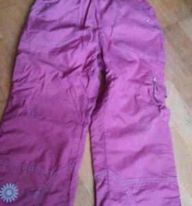 Демисезонные брюки 116