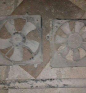 вентиляторы охлаждения радиатора.