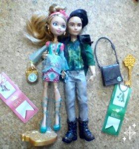 Куклы ЕАХ, эвер афтер хай, Эшлин Элла и Хантер