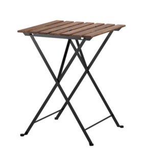Стол складной (дерево/сталь)