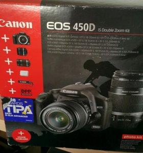 Фотоаппарат Canon EOS d 450D