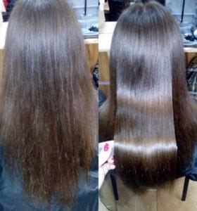 Полировка волос + запаивание