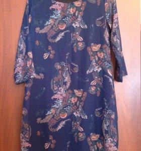 Продам платье новое 42 р- ра рукав 3/4 шифоновое