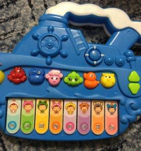 Детское музыкальное пианино