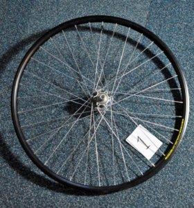 """Колесо велосипедное переднее 26"""" дисковый тормоз"""