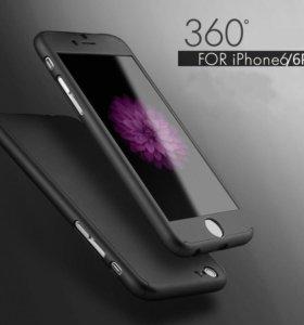 Чехлы 360 градусов для iPhone