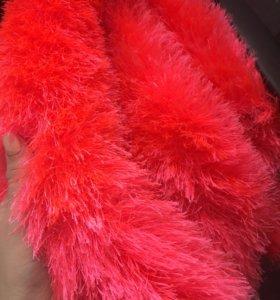 Пряжа ярко розовая