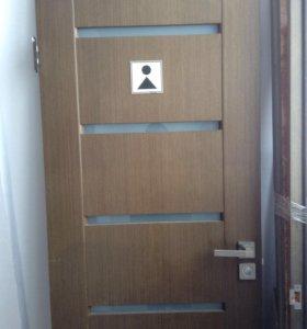 Дверь с коробами 190*70