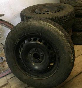 Комплект колес, летние r15