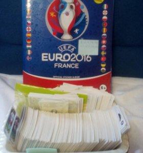 Наклейки PANINI EURO 2016