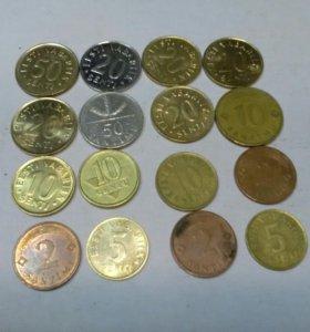 Монеты Прибалтики