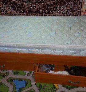 Детская кровать б.у 1.5 года
