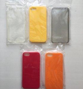Силиконовые накладки iPhone 5s