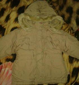 куртка весенняя р 80