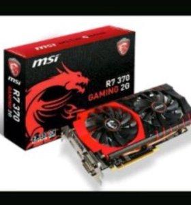 Видеокарта Radeon r7 370 2G