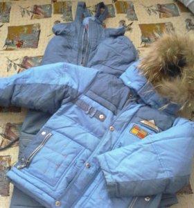 Костюм зимний,весенняя куртка,ветровка.