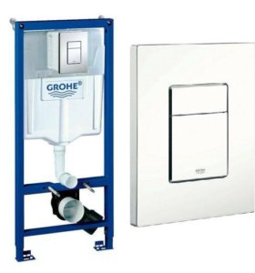 Инсталляция GROHE 3в1