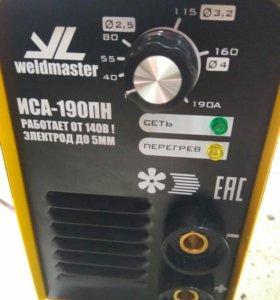 Сварочный аппарат weldmaster иса 190пн