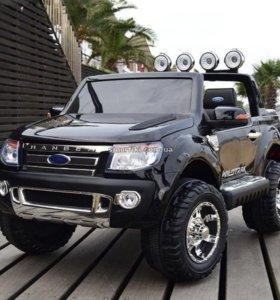 Детский электромобиль Ford Ranger двухместный