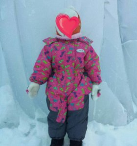 Детский зимний комбинезон 86 размер