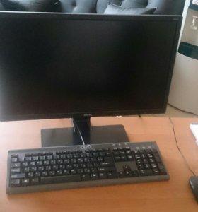 Компьютер и ЖК монитор