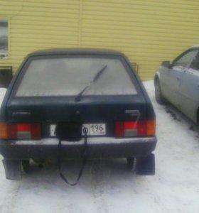 Авто 2109 зелёный металик 2002 год