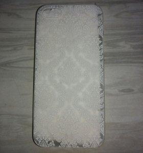 Чехол и закалённое стекло для iPhone 5, 5s