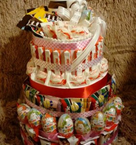 Торт из конфет на заказ