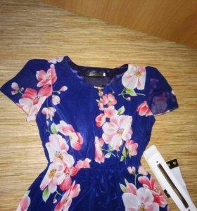 Платье очень лёгкое, б/у 1 раз