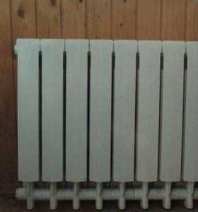 """Батарея, Радиатор отопления """"Оазис"""", алюминевый"""