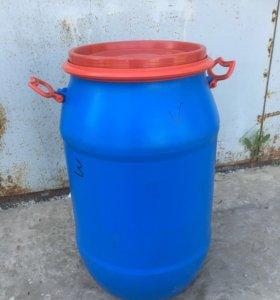 Бочки пластиковые (бочонки) 80 литров, пищевые.